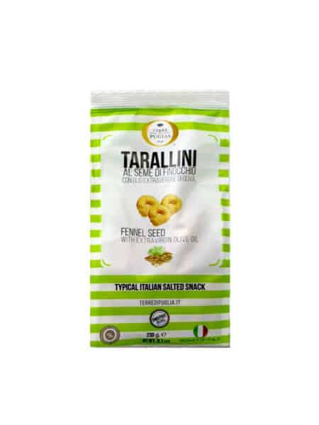 Terre di Puglia - Tarallini Olive Oil Fennel Seeds